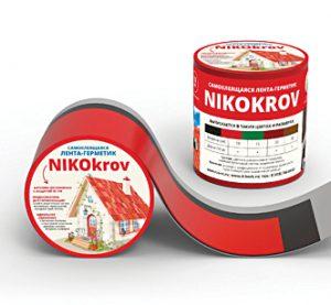 Самоклеящаяся лента — герметик Nikokrov 10 см*10 м