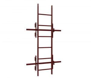 Лестница на фальцевую кровлю 1,86 м